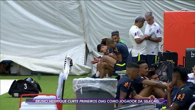 Brasil se prepara para amistosos com Colômbia e Peru pensando nas eliminatorias