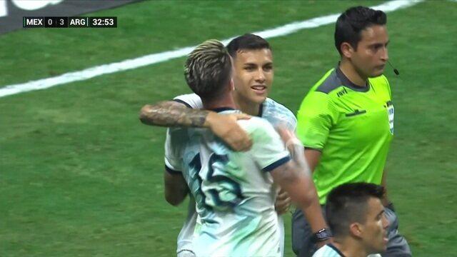 Melhores Momentos: México 0 x 4 Argentina pelo amistoso internacional