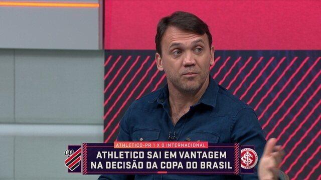 Petkovic fala que Tiago Nunes pode usar a experiência de Lucho Gonzalez para o jogo da volta na decisão da Copa do Brasil