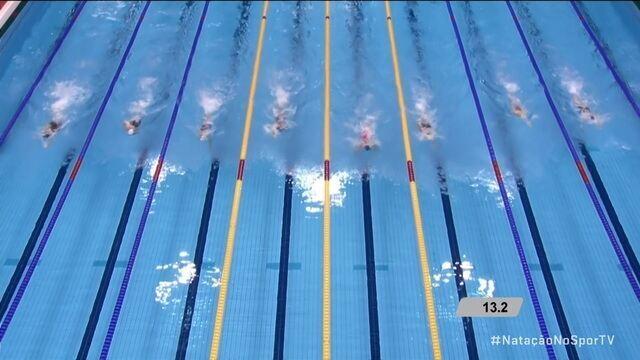 Cecília Araújo leva medalha de prata nos 50m livre S8 no Mundial de Natação Paralímpica