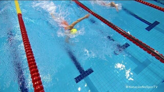 Maria Carolina Gomes leva medalha de ouro nos 100m livre S12 no Mundial de Natação Paralímpica
