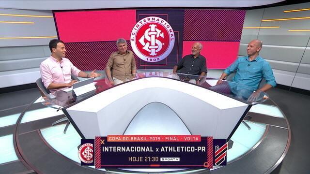 Seleção relembra as campanhas de Athletico-PR e Inter até a final da Copa do Brasil