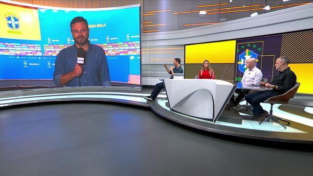 Eric Faria atualiza as informações da Seleção Brasileira principal e de base