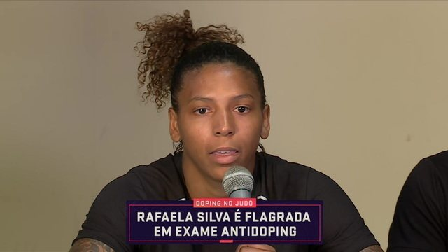 Judoca Rafaela Silva é flagrada em exame antidoping e participa de coletiva para explicar situação