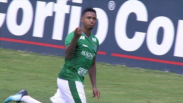 Melhores momentos de Guarani 1 x 0 Paraná pelo Campeonato Brasileiro da Série B