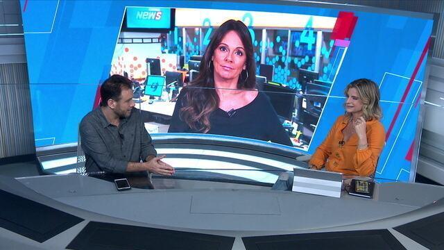 Mesa do SporTV News comenta sobre as comparações entre Flamengo e Palmeira no Campeonato Brasileiro