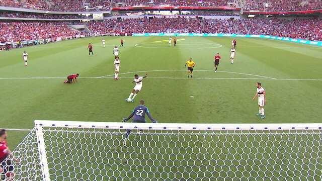 Comentaristas analisam a vitória do Flamengo sobre o Athlético-PR na Arena da Baixada