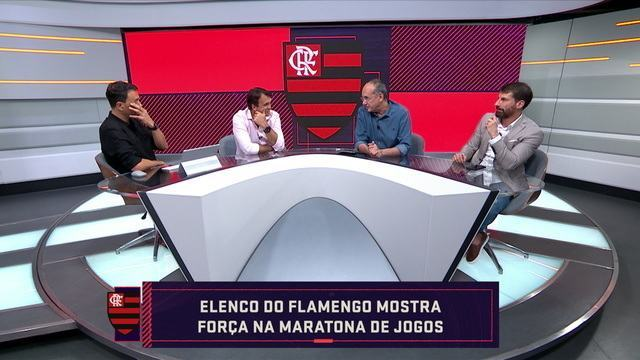 Mesa analisa força do elenco atual do Flamengo