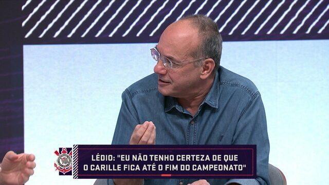 Comentaristas analisam situação de Carille no Corinthians