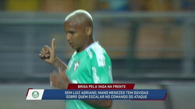 Loffredo e Fabiola avaliaram o desempenho de Borja e Deyverson na temporada