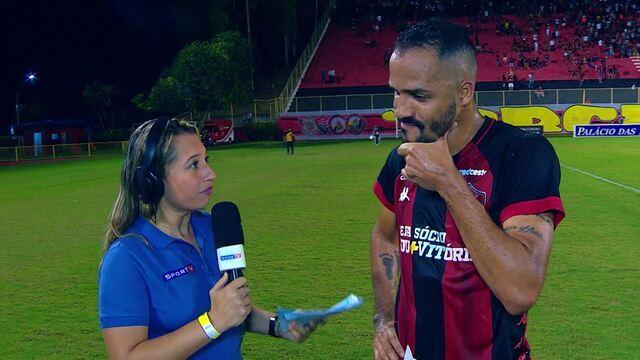 Anselmo Ramon lamenta quebra de boa sequência do Vitória na derrota para o Londrina