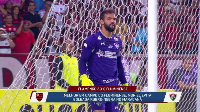 """Mesa elogia Muriel, e Loffredo diz: """"Fase dele o torna um dos melhores do Brasil hoje"""""""