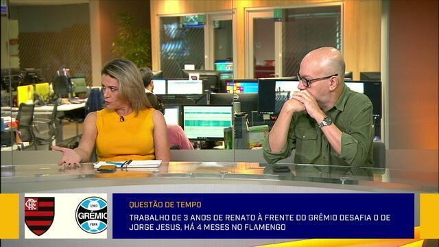 Redação comenta sobre semifinal desta noite entre Flamengo e Grêmio