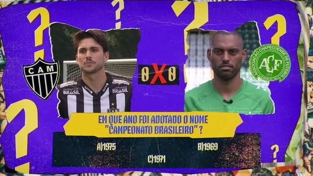 Quiz do Brasileirão: no duelo de zagueiros entre Galo e Chape, a goleada de Igor Rabello sobre Douglas