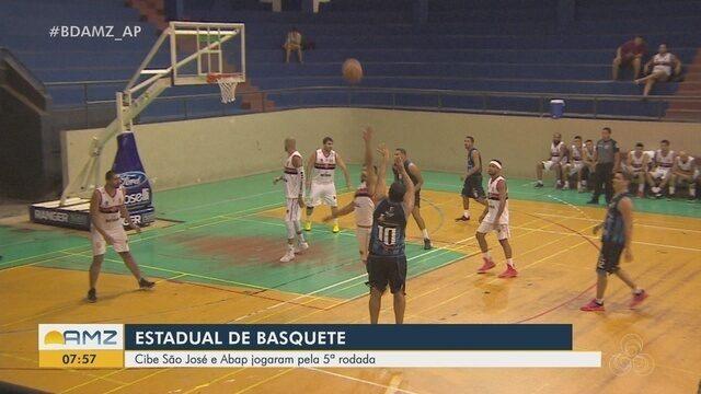 Cibe/São José vence Abap pela 5ª rodada do Estadual de Basquete