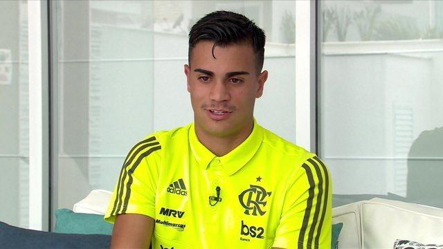 Reinier fala sobre carreira e atual momento no Flamengo