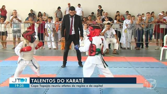 Crianças participam de competição de Karatê em Santarém