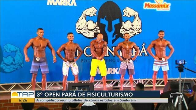 Mais de 80 atletas de fisiculturismo participaram da 3ª edição do Open Pará