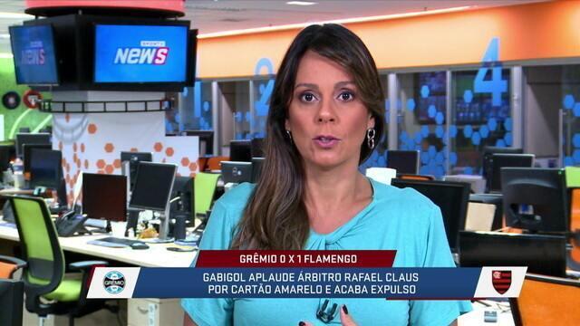 """Fabíola Andrada diz que 23 anos é idade bem """"adulta"""" para Gabigol ser considerado """"garoto"""""""