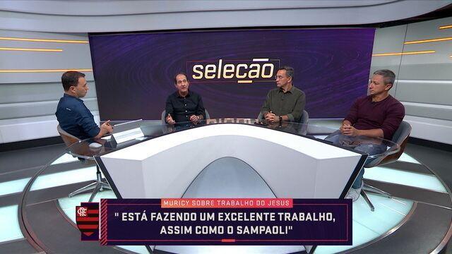 Analistas do Seleção SporTV debatem críticas direcionadas a Jorge Jesus