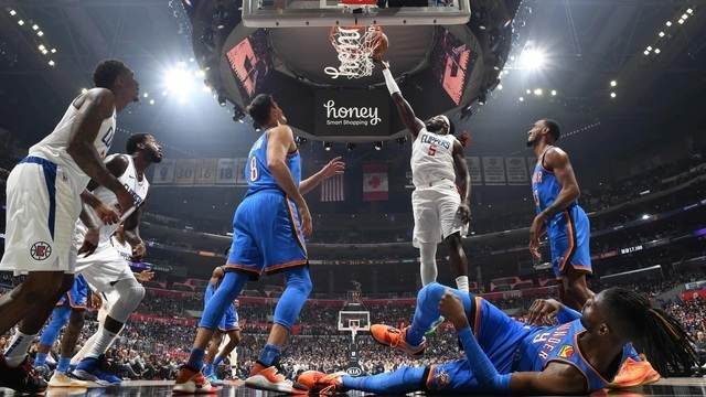 Melhores momentos de Oklahoma City Thunder 88 x 90 Los Angeles Clippers pela NBA
