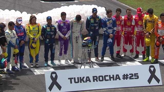 Stock Car faz homenagem a Tuka Rocha antes da etapa de Goiânia