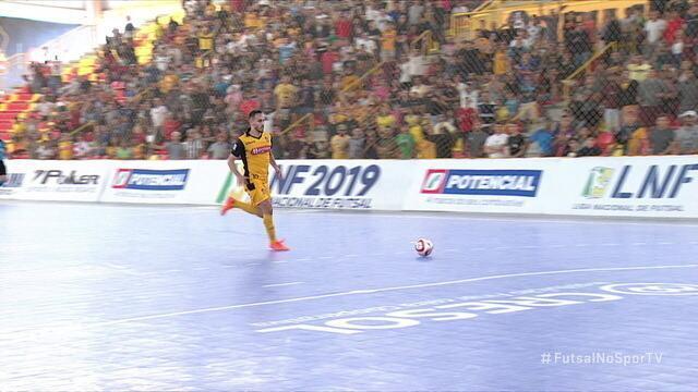 Os gols de Sorocaba 2 x 1 Joinville pela Liga Nacional de Futsal