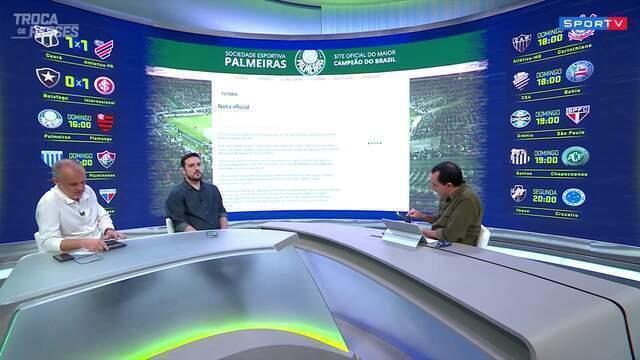 """Raphael Rezende critica Palmeiras sobre torcida única: """"Clubes militam em causa própria"""""""