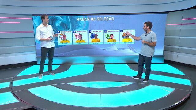 """Radar da Seleção: brasileiros """"desconhecidos"""" brilham em vitórias de Benfica e Sevilla"""