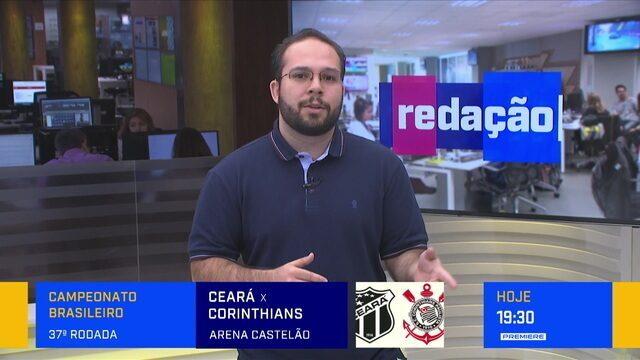 Redação debate sobre Ceará x Corinthians