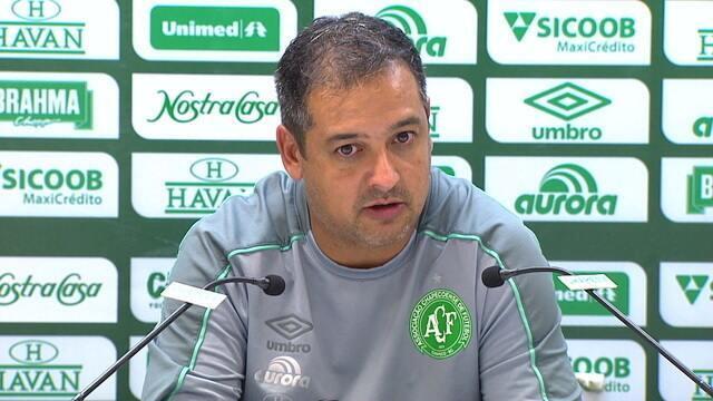 Marquinhos Santos fala sobre a vitória da Chapecoense sobre o CSA na Arena Condá