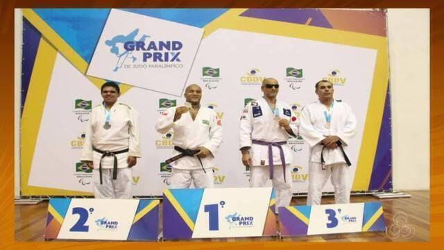 Judoca Robson André garantiu uma medalha de prata no Grand Prix de Judô