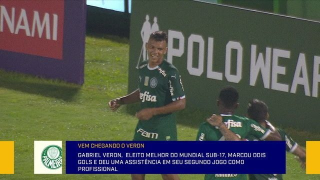 Comentaristas analisam o desempenho do Gabriel Veron no Palmeiras
