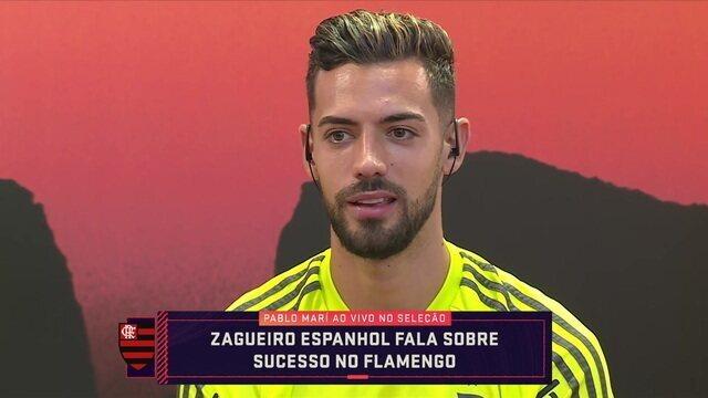 """Pablo Mari participa do Seleção Sportv e fala sobre a fase no Flamengo: """"É um momento especial"""""""