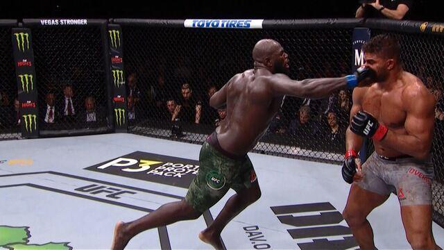 Melhores momentos de Alistair Overeem x Jairzinho Rozenstruik no UFC Washington.