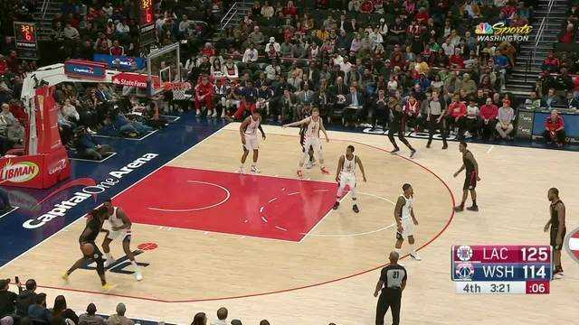Melhores momentos: Los Angeles Clippers 135 x 119 Washington Wizards pela NBA
