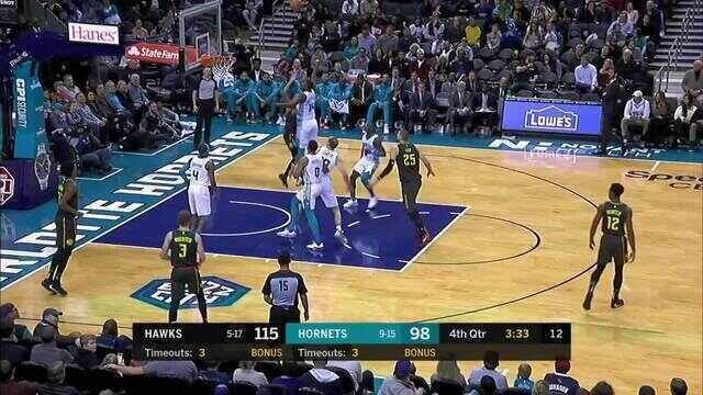 Melhores momentos: Atlanta Hawks 122 x 107 Charlotte Hornets pela NBA