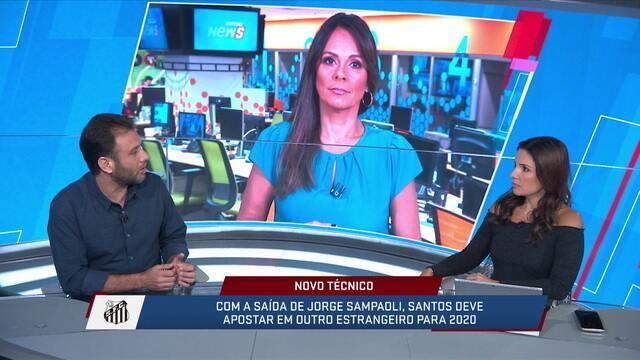 Mesa discute quais técnicos poderiam assumir o Santos