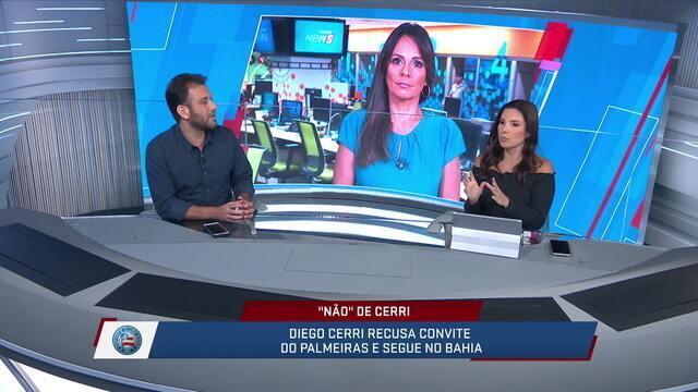 Loffredo aponta que o Palmeiras tem recebido muitas recusas