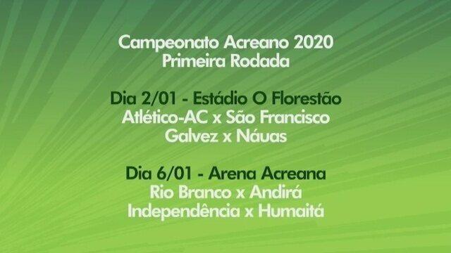 Veja o 2º bloco do Globo Esporte Acre desta quarta-feira (11/12/2019)