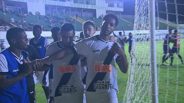 Os gols de Vasco 2x1 Independiente pelas quartas de final da Copa RS de Futebol sub-20