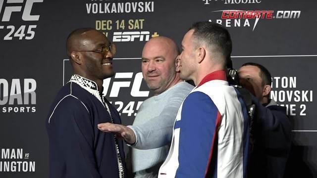 Confira as encaradas do media day do UFC 245, em Las Vegas