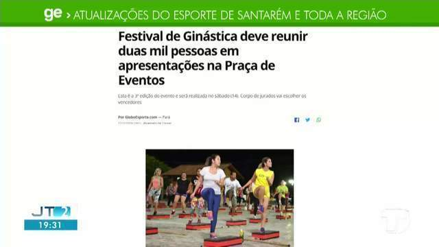 Festival de ginástica que deve reunir duas mil pessoas é destaque do GE
