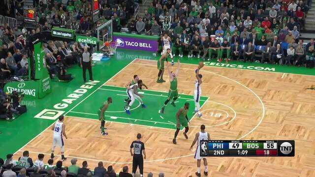 Melhores momentos de Philadelphia 76ers 115 x 109 Boston Celtics pela NBA