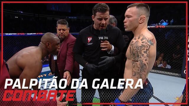 Palpitão da Galera: UFC 245