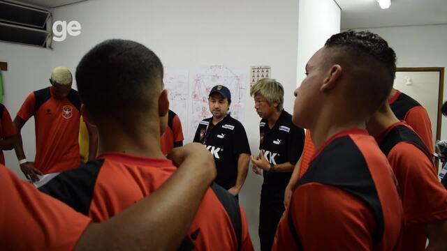 Veja como é o vestiário do Socorro-SE, time treinado por japonês na Copa São Paulo