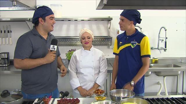 Armando na Cozinha #1: O venezuelano que atua no Rondoniense e é apaixonado por farofa