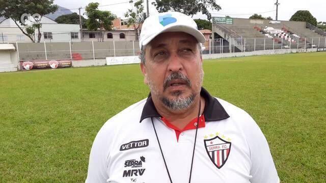 Técnico Charles de Almeida analisa virada do Serra sobre a Desportiva