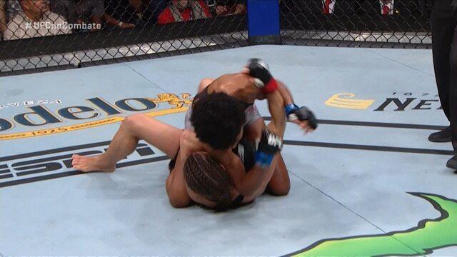 Melhores Momentos de Hannah Cifers x Angela Hill no UFC Raleigh, no dia 25/01/2020.