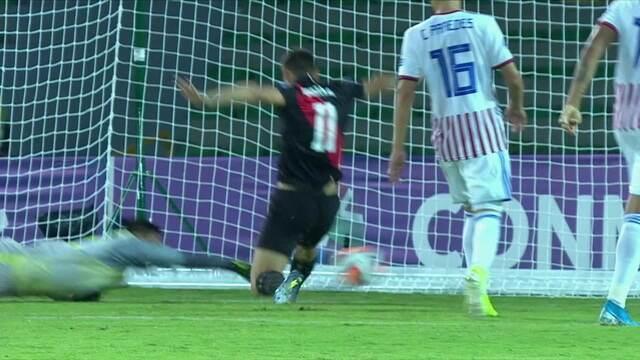 Os gols de Paraguai 2 x 3 Peru pelo Pré-olímpico de futebol sub-23